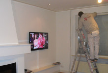 Huiskamer renovatie
